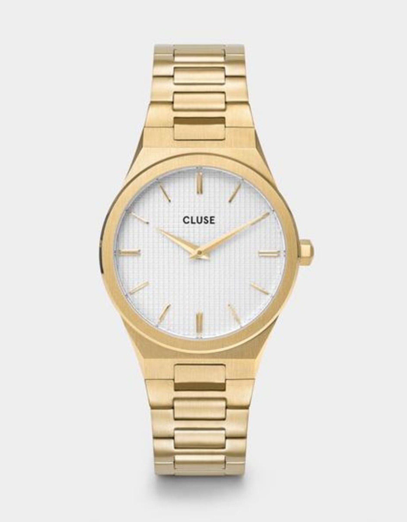 Cluse - Vigoureux 33 H-Link, Gold, Snow White/silver