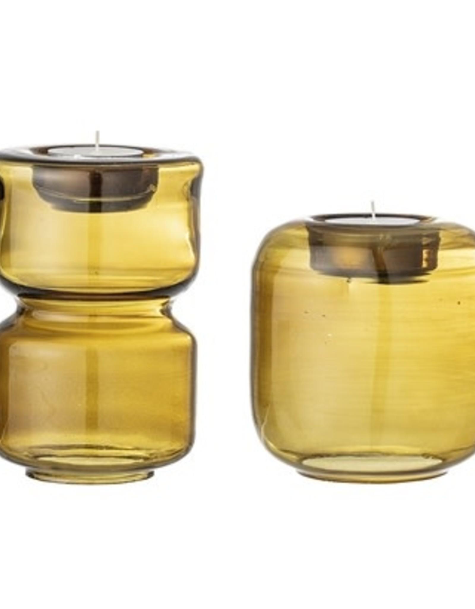 Bloomingville Bloomingville - Vase brown stone ware L