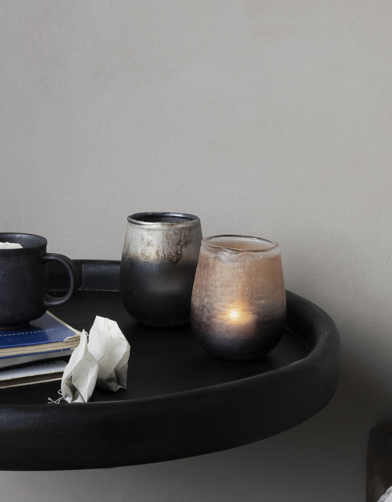 House Doctor House Doctor - Tealight holder, moon, brown