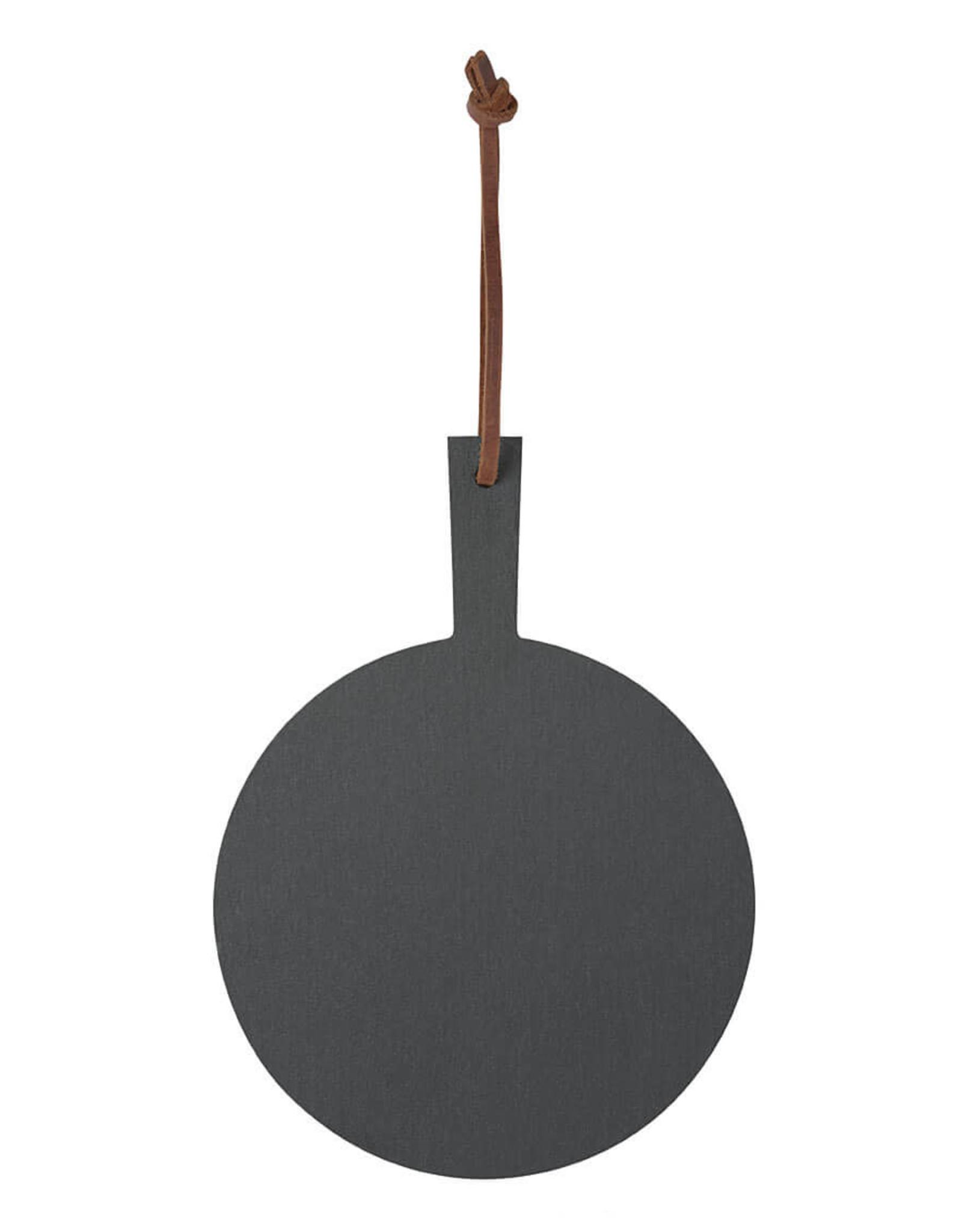 Räder Rader - Little slate board round, dia 12,5