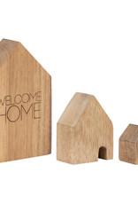 Räder Rader - Wooden houses set of 3pcs