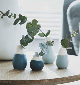Räder Rader - Mini pastel vases set of 4pcs - blue