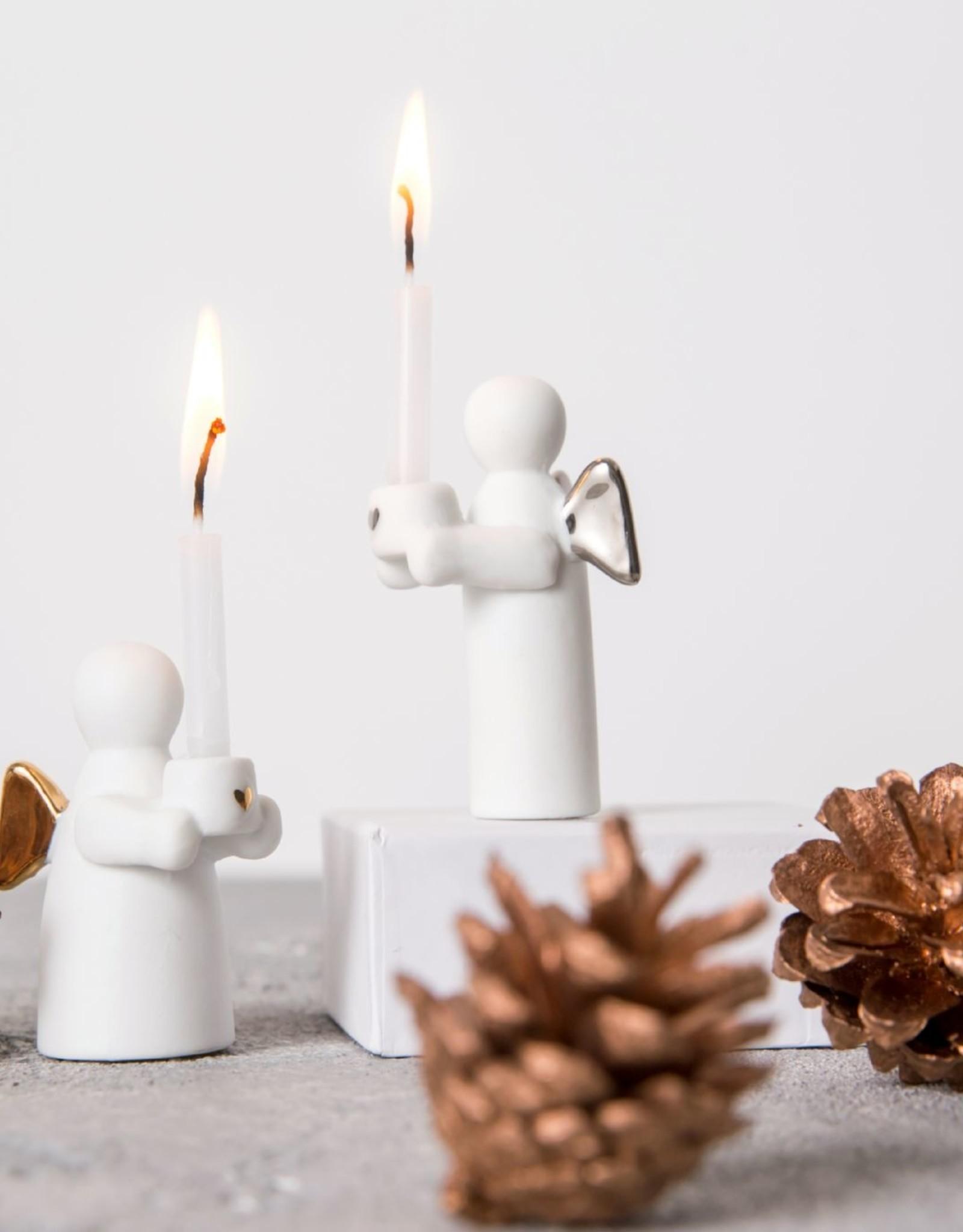 Räder Rader - Guardian angels candle gold