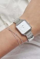Cluse Cluse - Tétragone single link Silver/white