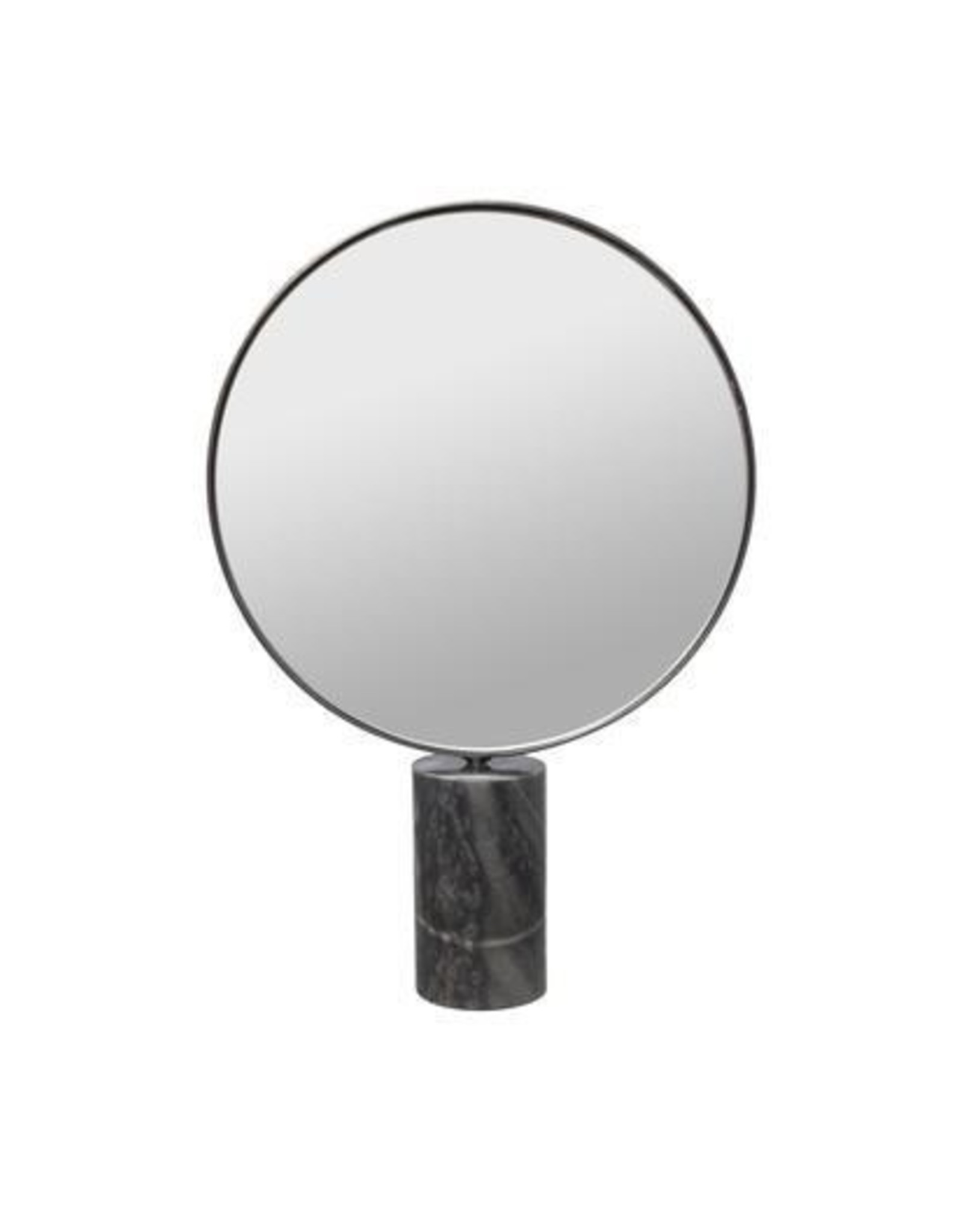 Dome Deco Dôme deco - Mirror round on marble stand