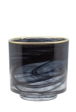 Dome Deco Dôme deco - Tealight alabaster glass with gold M