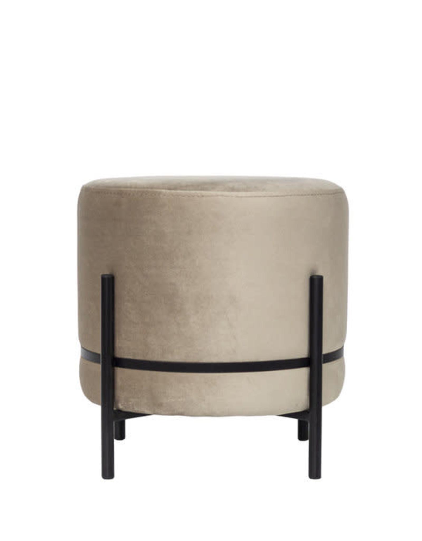 Dome Deco Dome Deco - Baba stool on stand - Paris velvet