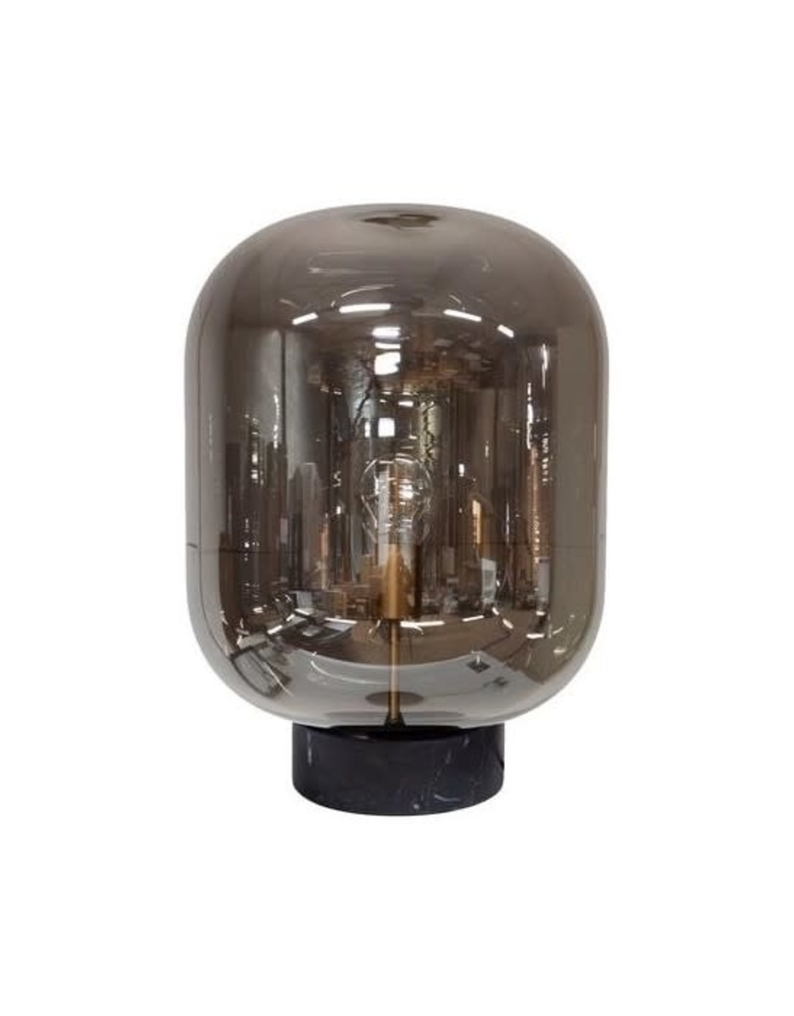 Dome Deco Dome deco - Tablelamp glass with marble base
