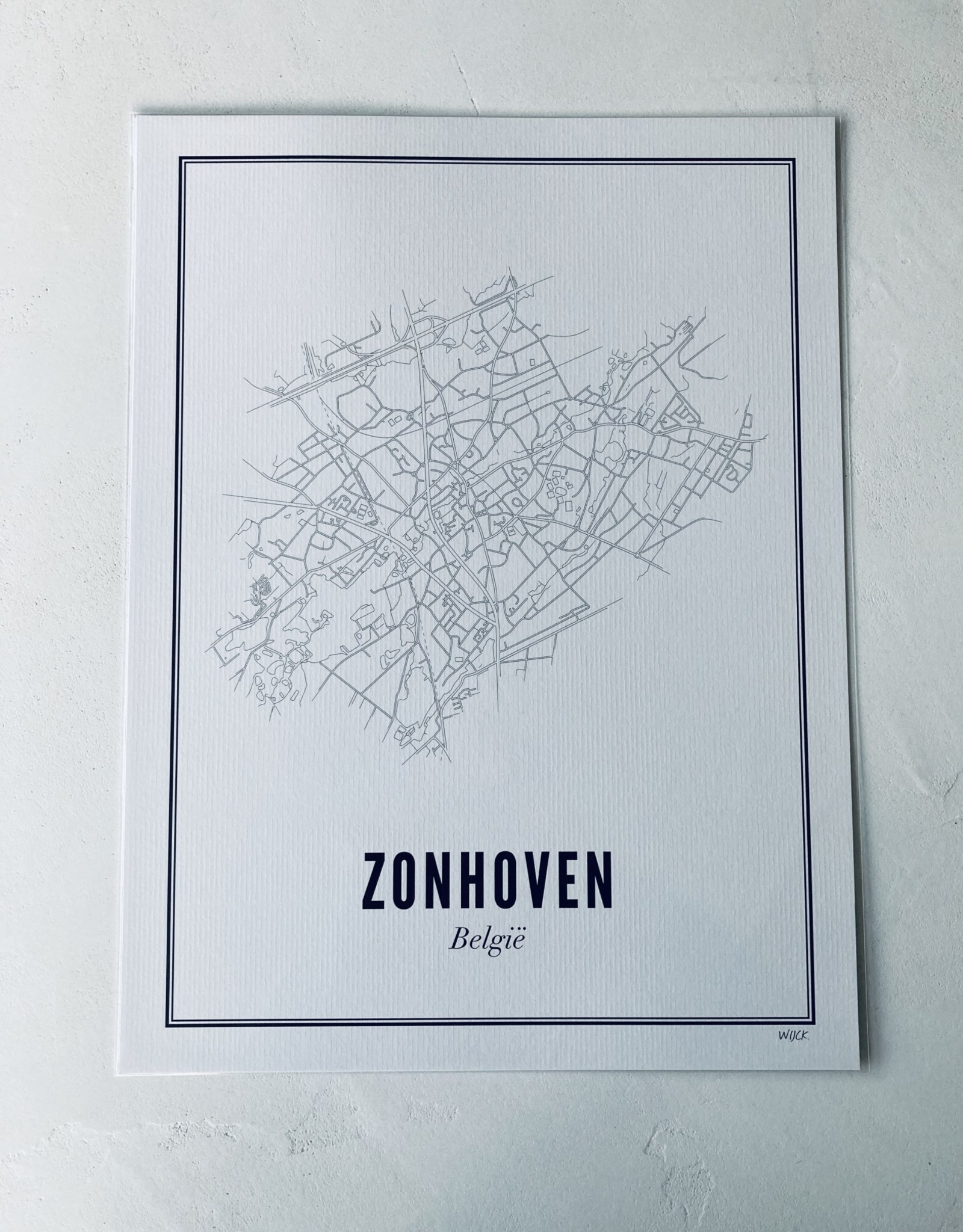 Wijck Wijck - prints - 30x40 - Zonhoven