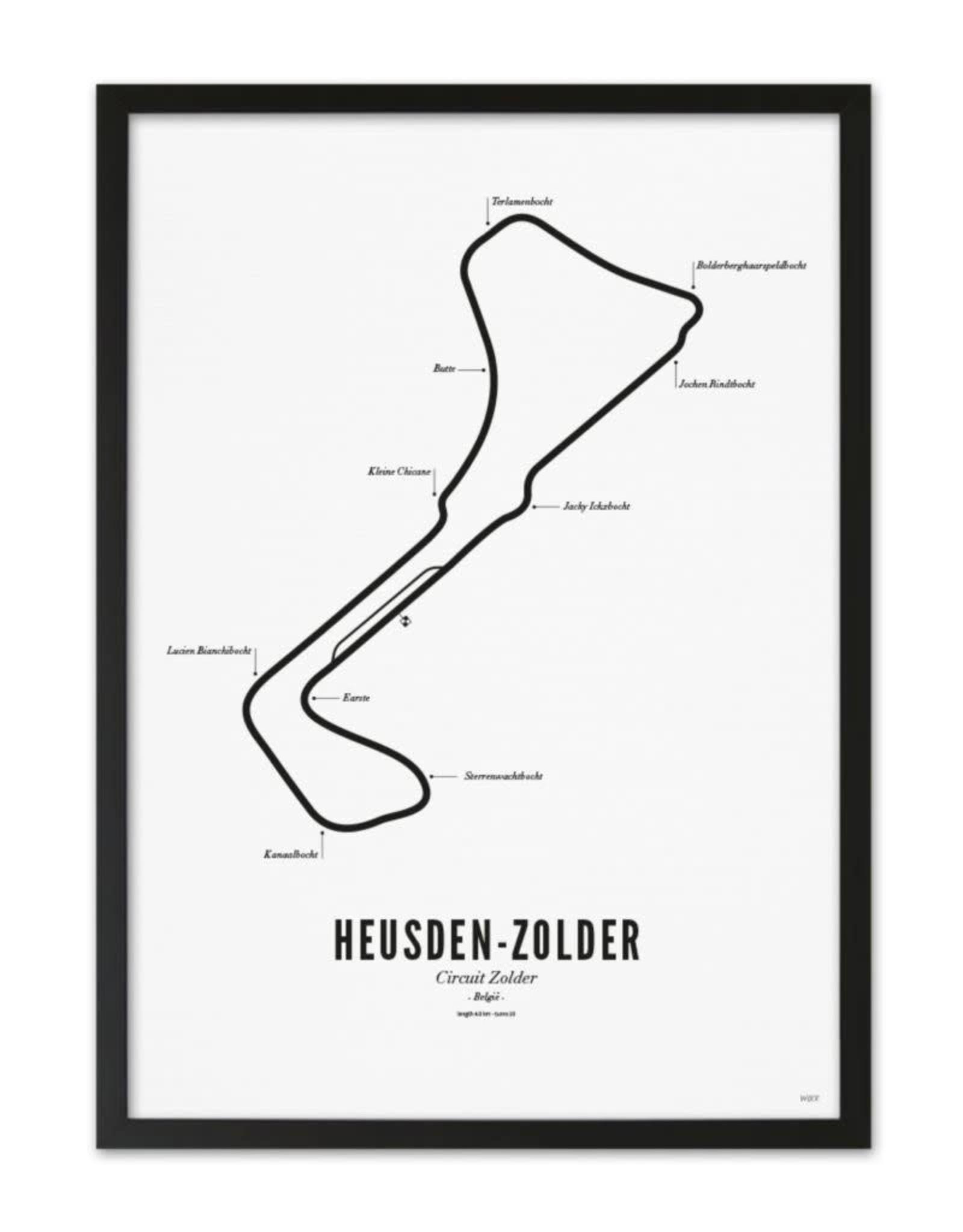 Wijck Wijck - prints - 40x50 - Circuit Zolder