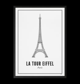 Wijck Wijck - prints - 21x30 - Paris eifeltoren