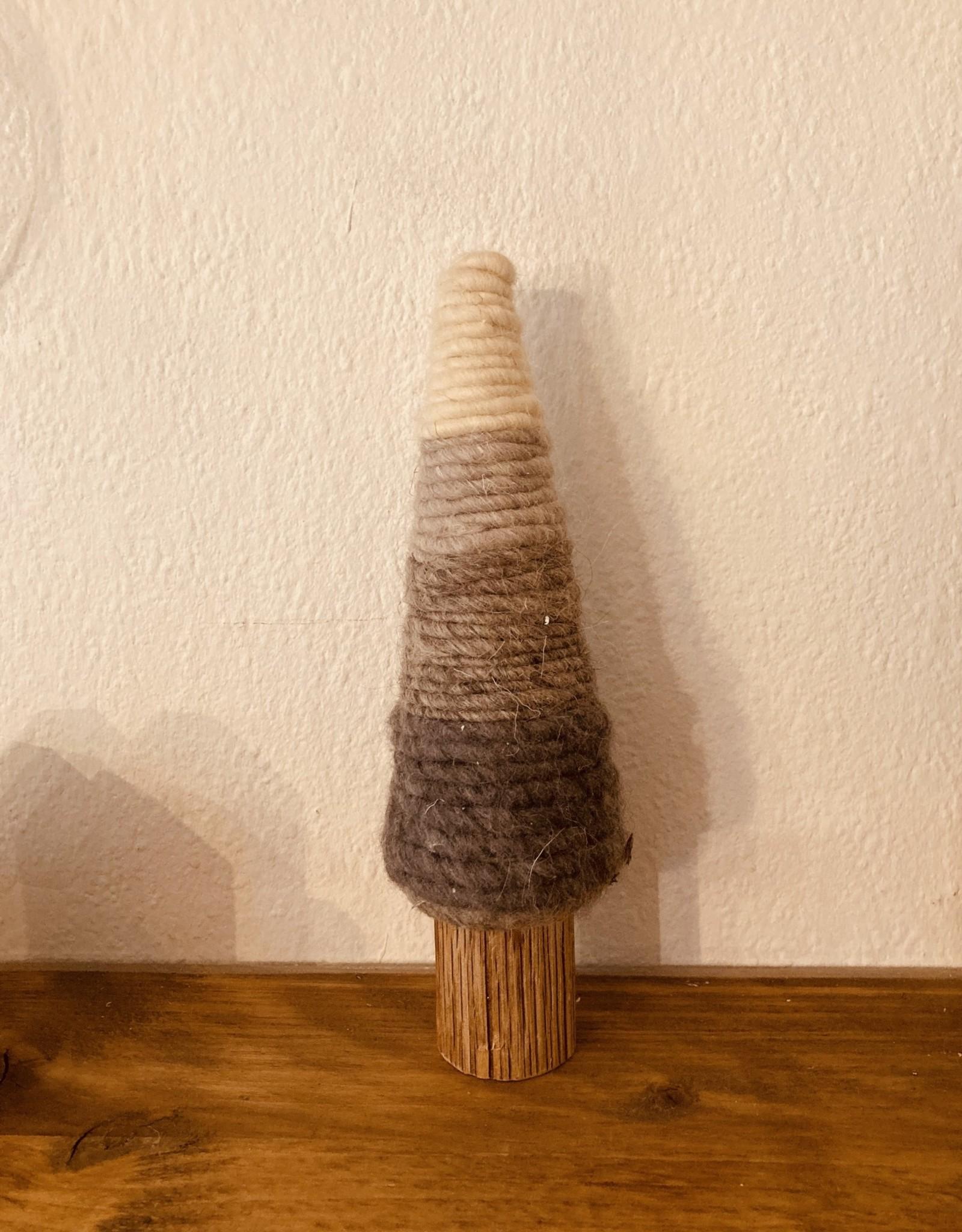 Bloomingville Bloomingville - Deco Tree, grey wool, h 25