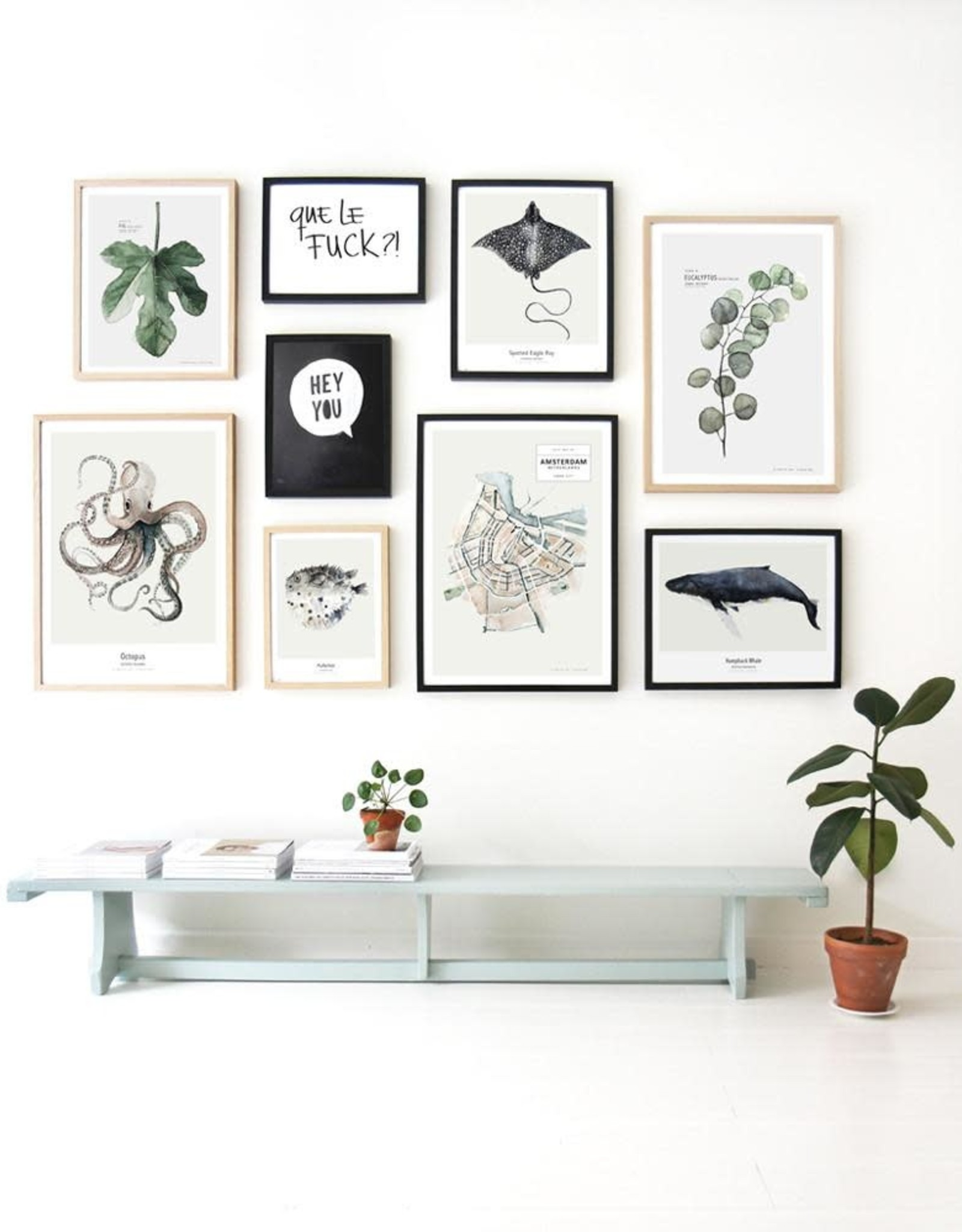 My deer art shop My deer art - Eucalyptus - 30x40