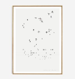My deer art shop My deer art - Swallows - 30x40