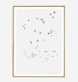 My deer art shop My deer art - Swallows  - 40x50