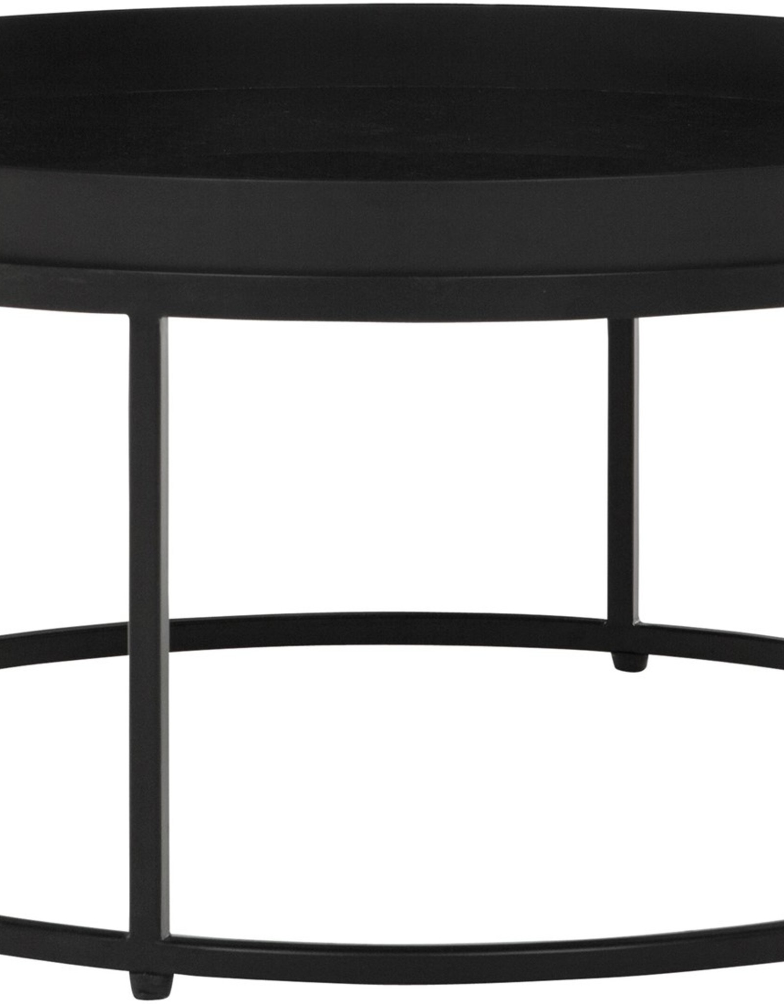 DTP - Coffee table golden Fiber large