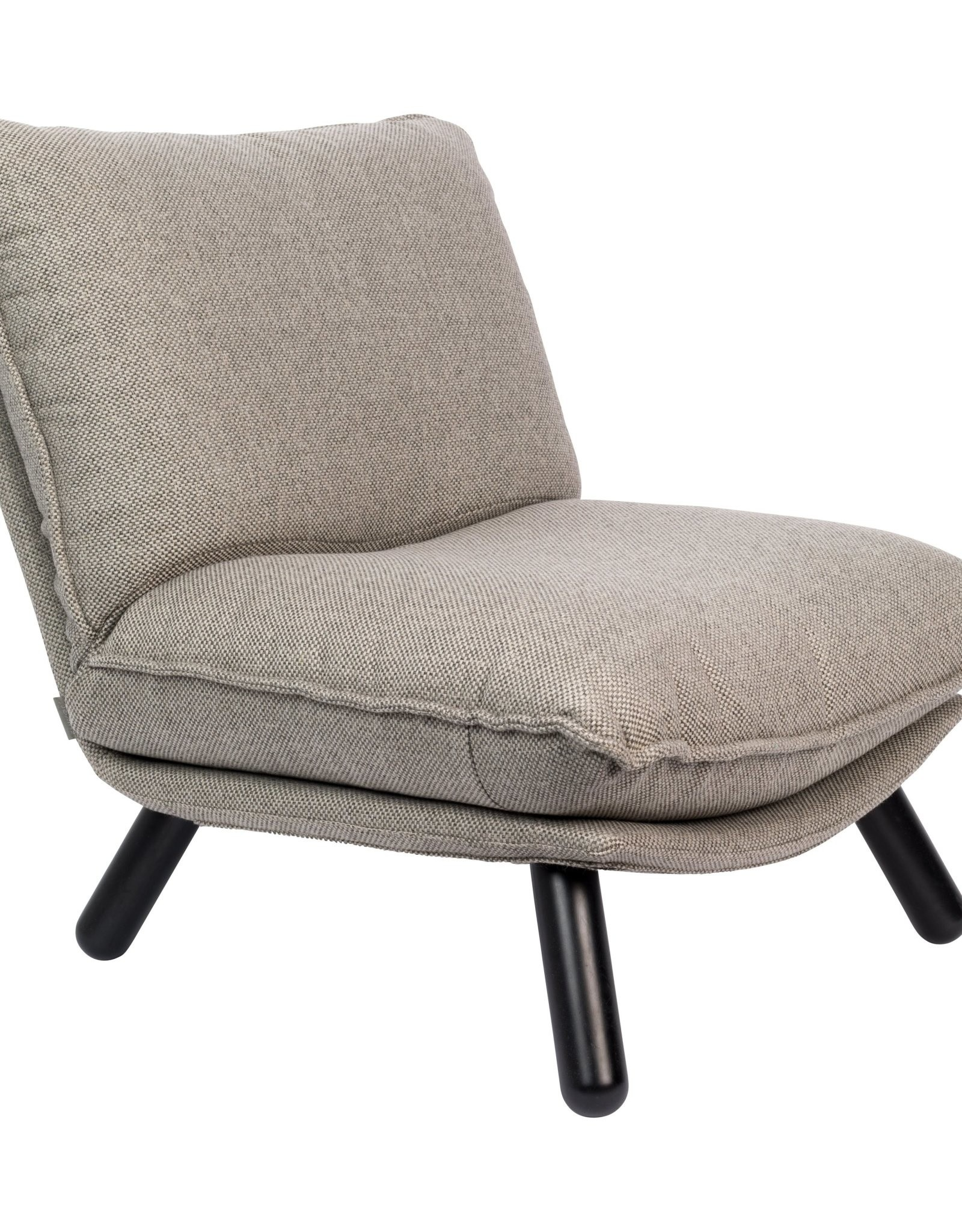 Dutchbone Dutchbone - Long chair lazy sack - light grey
