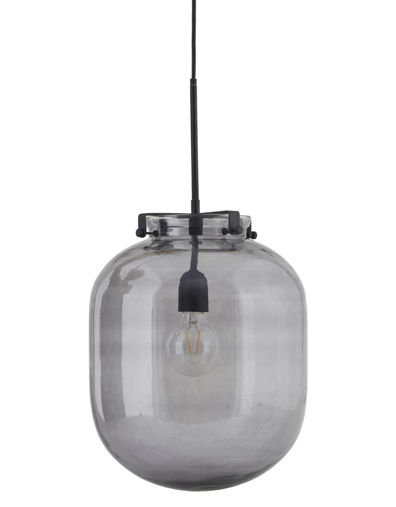 House Doctor House Doctor - Lamp glass ball grey