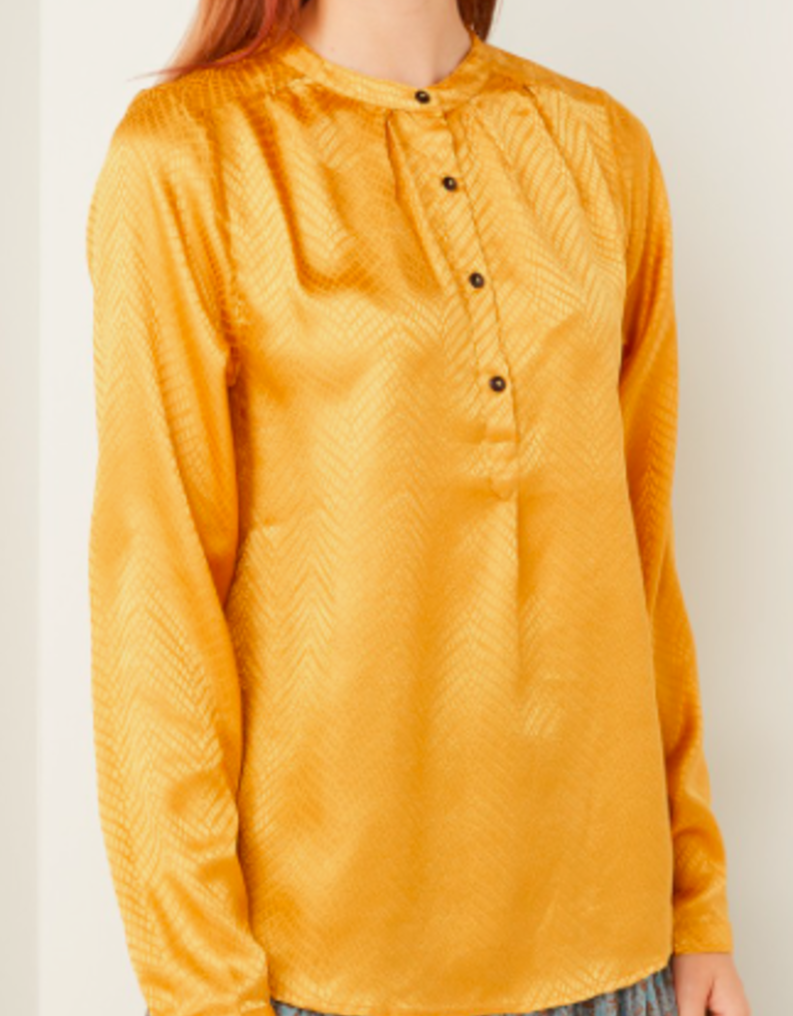 Lolly's Laundry Lollys Laundry - Singh shirt Mustard