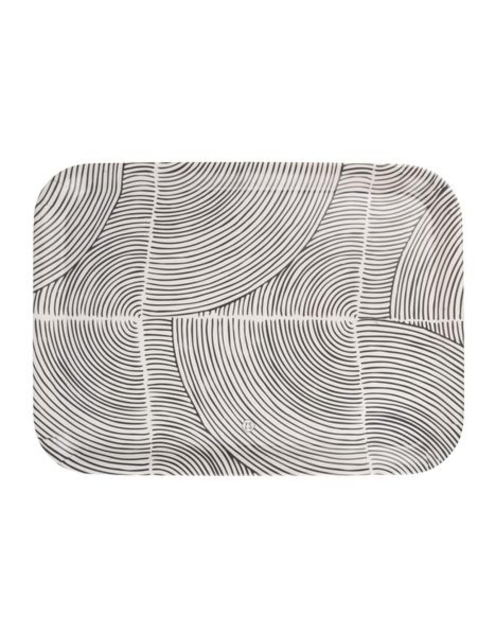 Zusss Zusss - Melamine dienblad grafisch patroon