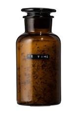 Wellmark Wellmark - Apothekers pot - bruin glas - 500 ml - me time