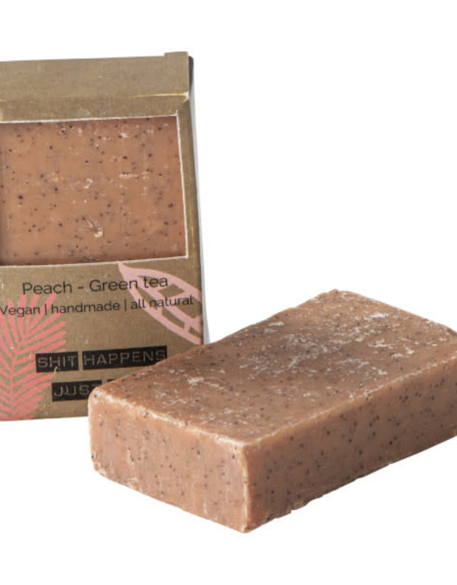 Wellmark Wellmark - Vegan Soap - loofah Peach Green Tea