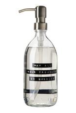 Wellmark Wellmark - Handzeep helder glas messing 500ml  - May all