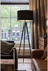 Zuiver Zuiver - Floor lamp tripod Black/black