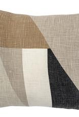 Bloomingville Bloomingville - Cushion, Nature, Cotton  45x45cm