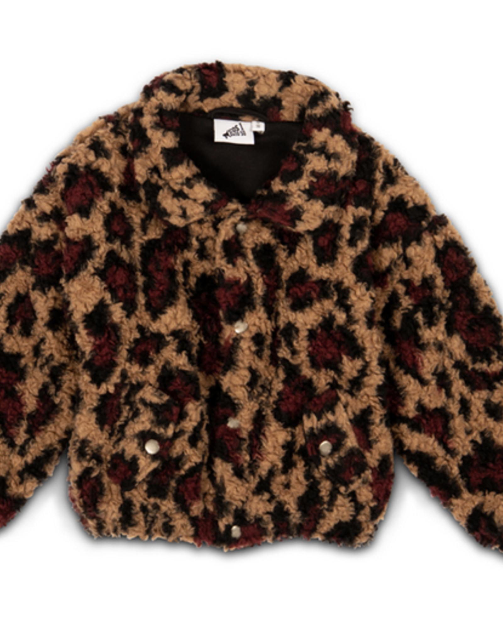 Cos i said so - Bomber jacket - Leopard jacket