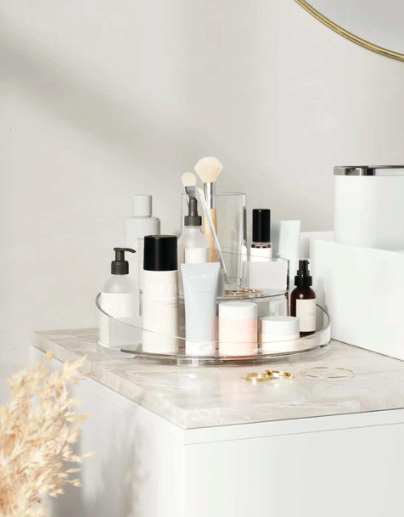 Umbra Umbra - cascada cosmetic organiser - clear