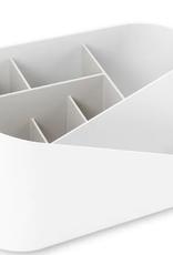 Umbra Umbra - glam cosmetic organiser - White