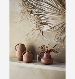 Madam Stoltz Madam Stoltz - Stoneware vase with handle small