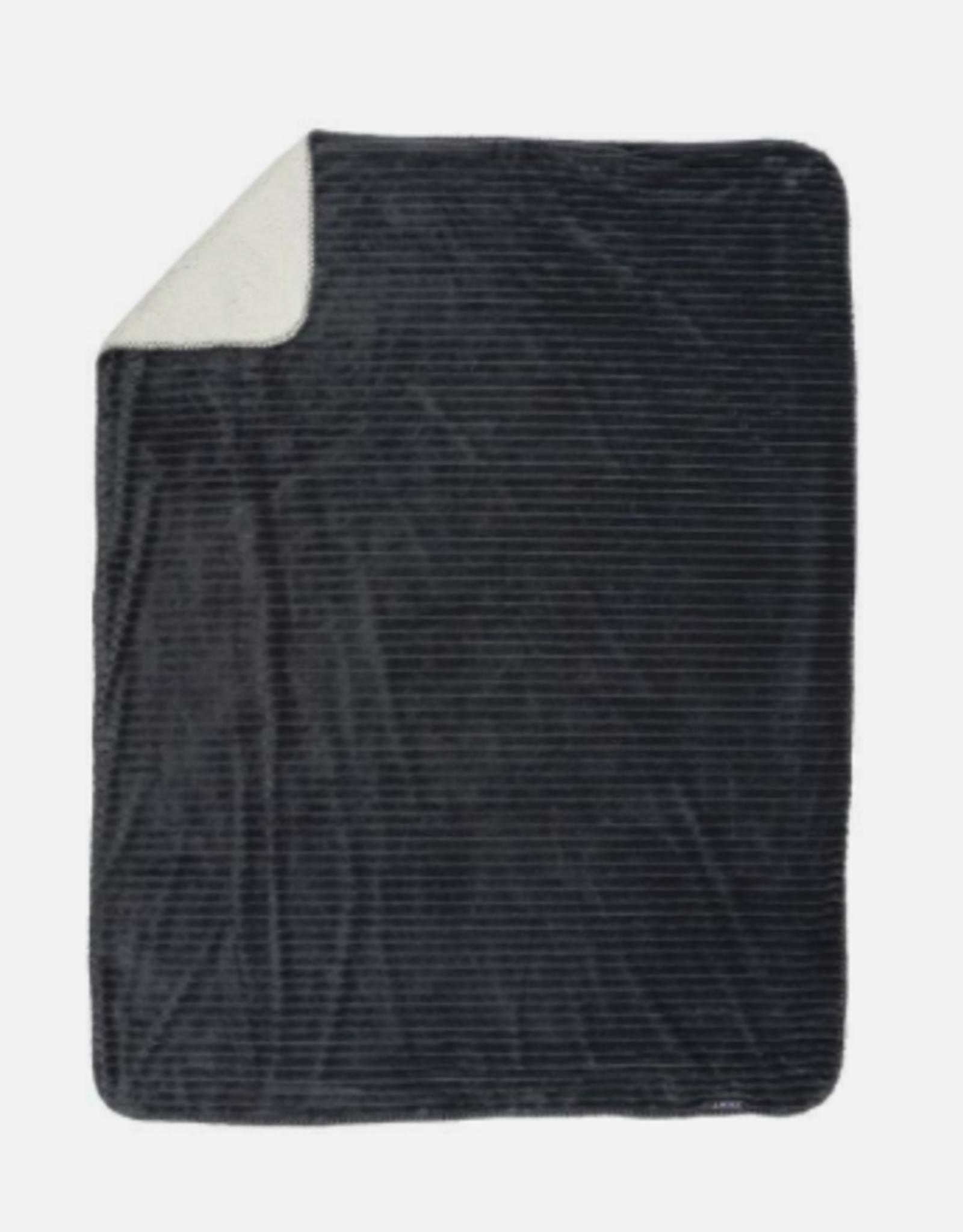Zest Plaid super soft - Donker grijs
