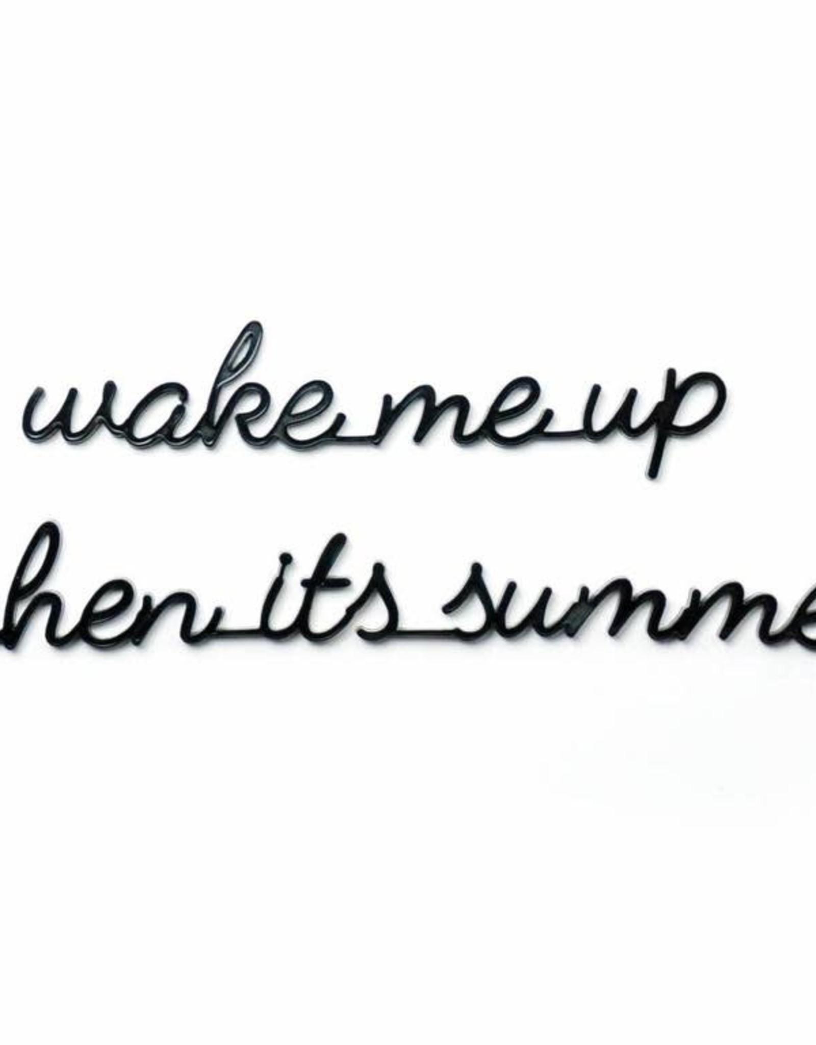 Goegezegd Goegezegd - Wake me up when its summer