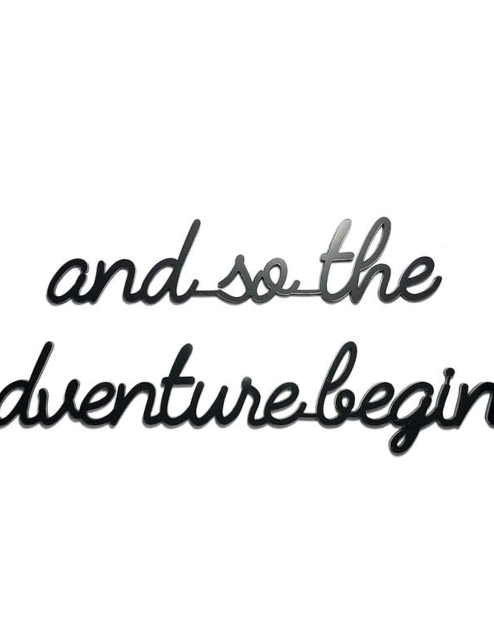 Goegezegd Goegezegd - And so the adventure begins