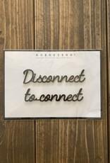 Goegezegd Goegezegd - Disconnect to connect
