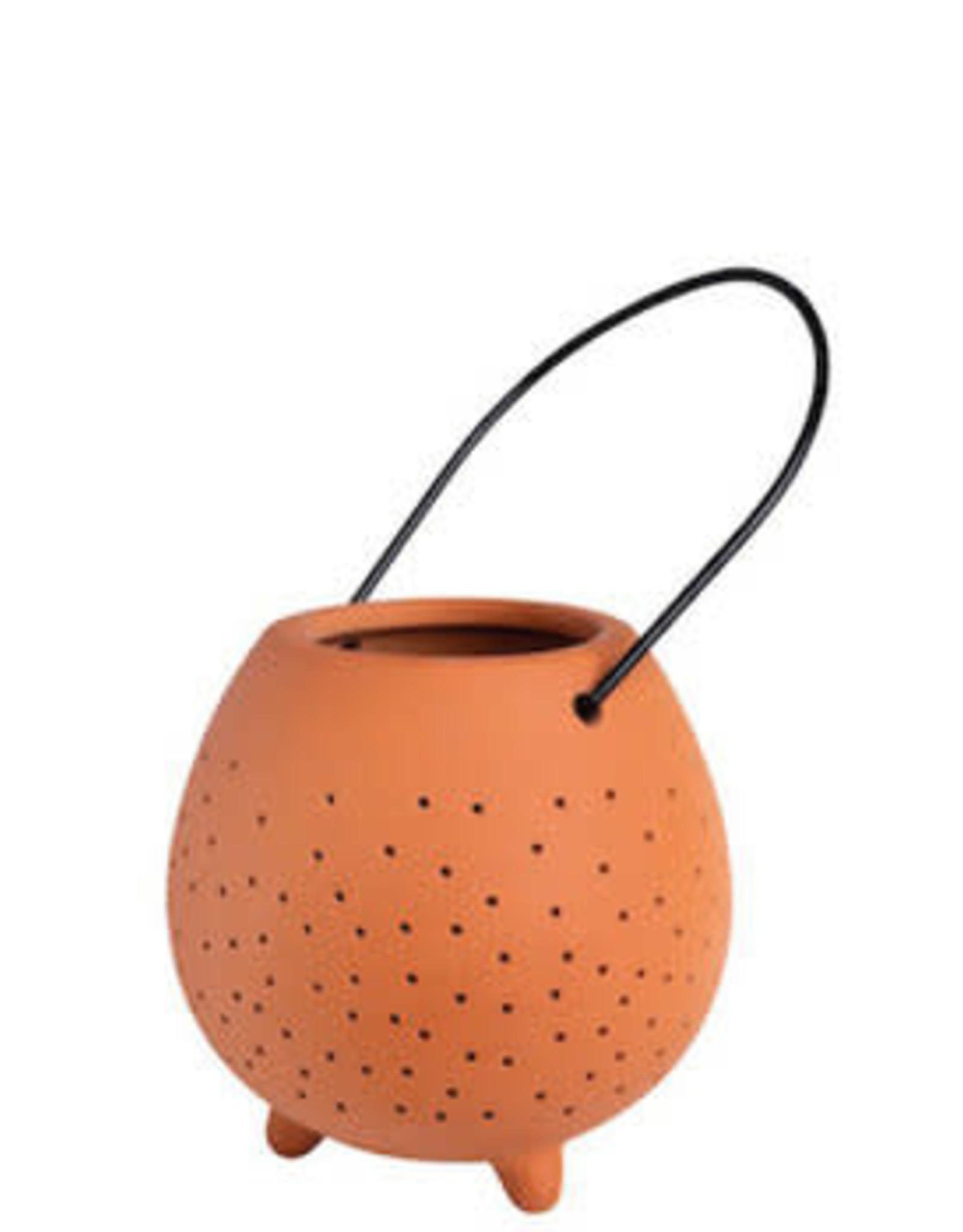 Räder Räder - Outdoor terracotta lantern - small
