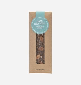 Nicolas Vahe - Milk Chocolate - Caramel - Salt & Almonds