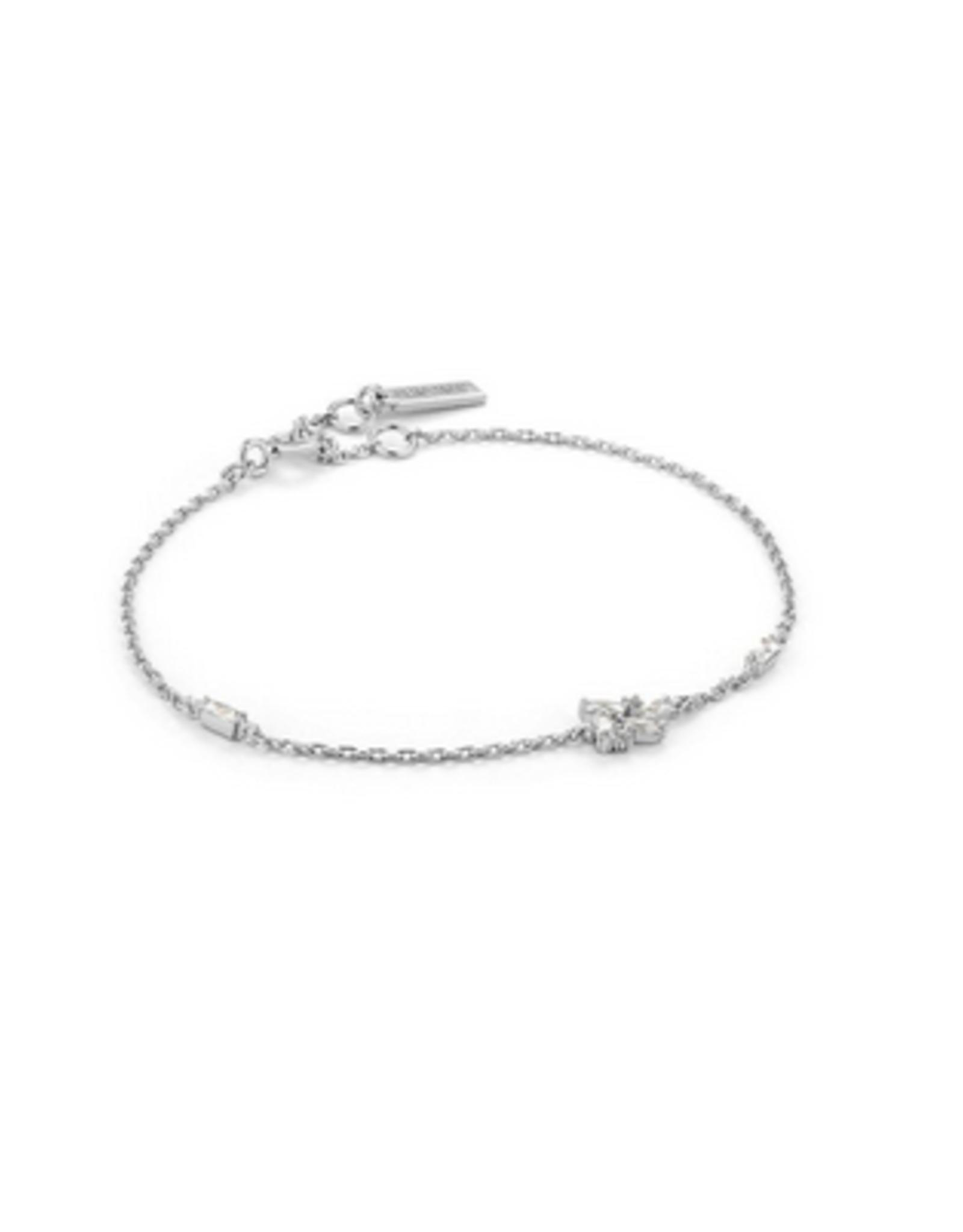 Ania Haie - Cluster Bracelet - silver