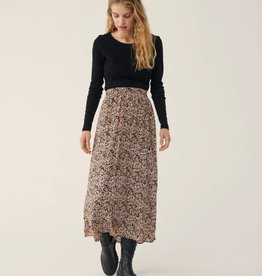 Moss Copenhagen MSCH - Merila Rikkelie Skirt - Black dots