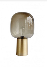 House Doctor House Doctor- Lamp, Note, grey/brass