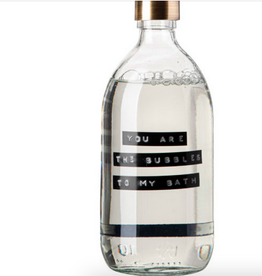 Wellmark Wellmark - Bathsoap clear glas messing 500ml - You are