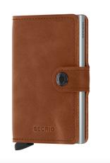 Secrid Secrid - Miniwallet - Vintage Cognac - Silver