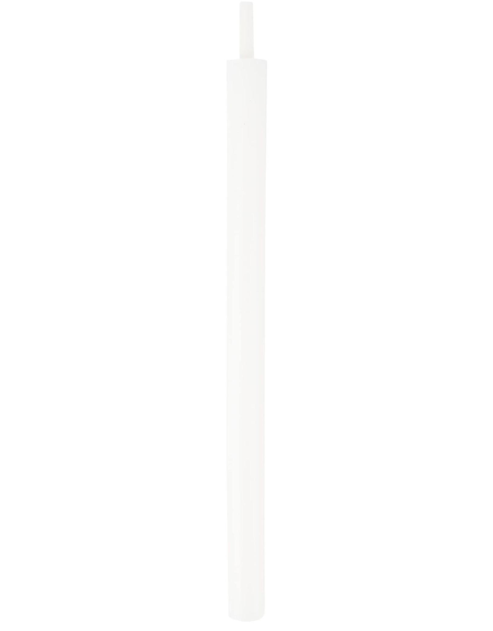 Zusss Zusss - Doosje met 10 witte kaarsjes wit