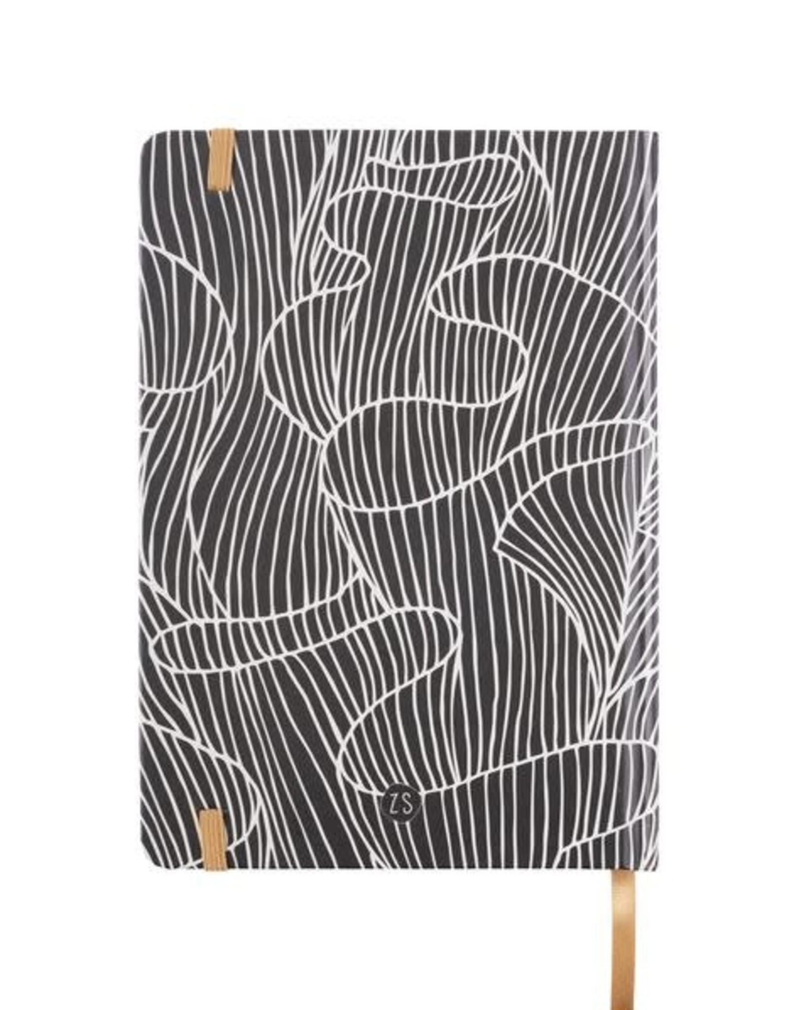 Zusss Zusss - Notitieboek koraalrif print zand