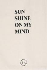 Zusss Zusss- katoenen tasje - Sunshine - naturel