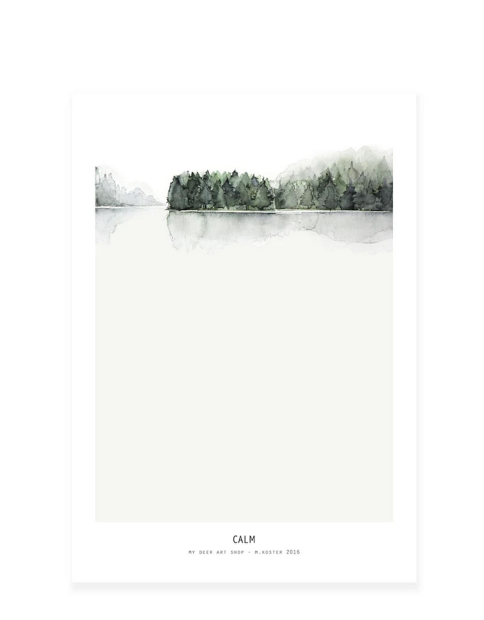 My deer art shop My deer art - mini prints - Calm - A5
