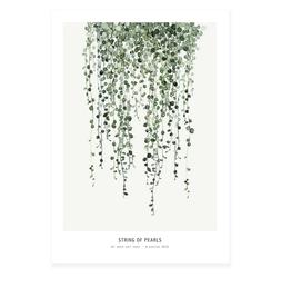 My deer art shop My deer art - mini prints - Strings of pearls - A5