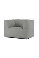 Bryck Bryck - chair - Smooth collection - silver